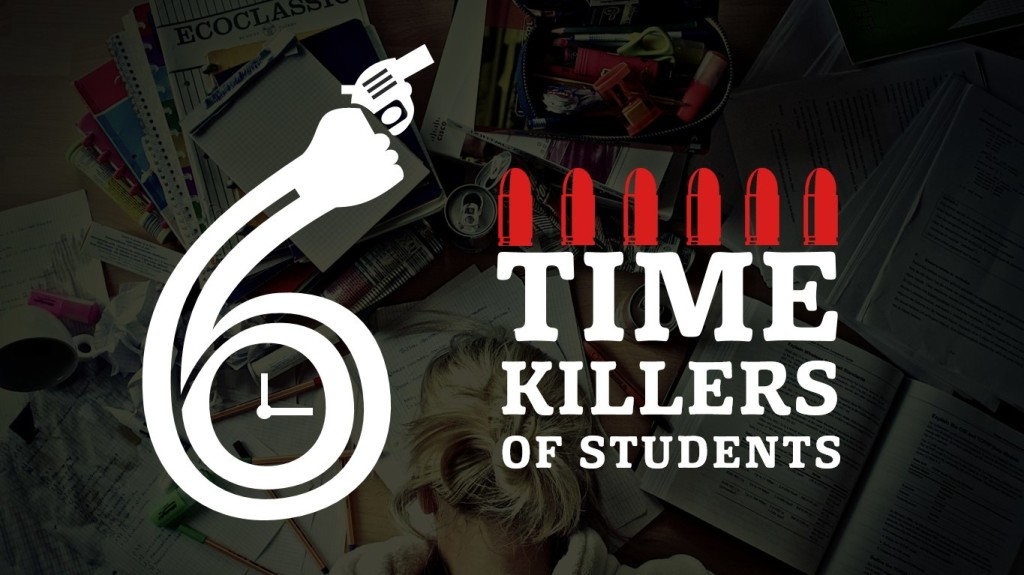 6 Timekillers of Students. Презентация на Slideshare