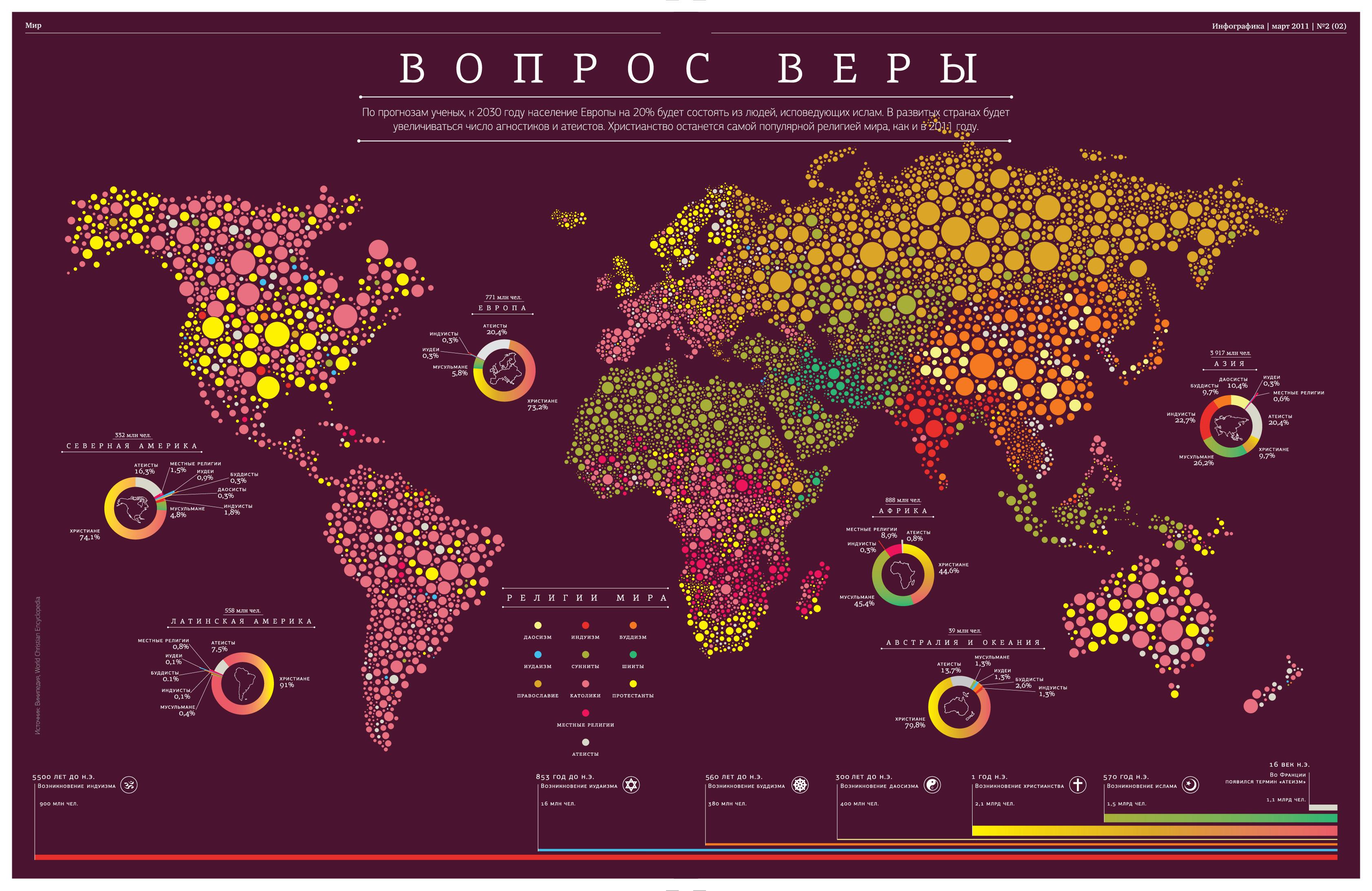Географические карты в презентации